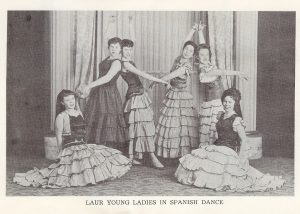 Laur Dancing Society – Spanish Dance (1959). Source: Collection of Laurie A. Gomulka, courtesy of Chris Unwin