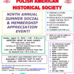 August 12, 2018 - Ninth Annual Summer Social & Membership Appreciation Event