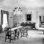 Dining Room of Dr. and Mrs. Zieger's Home, 19013 Park Lane, Grosse Ile, Michigan, ca. 1950
