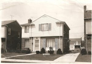 Roy and Sophia Martin's dream home at 17313 Westmoreland Road, Detroit (1951)