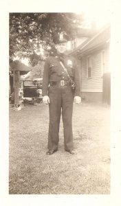 Sergeant Roy Martin, Detroit Police Department, McGraw Station (August 1942)