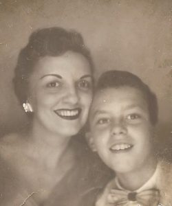 Sophia Martin and son Gary Roy Martin (ca. 1950)